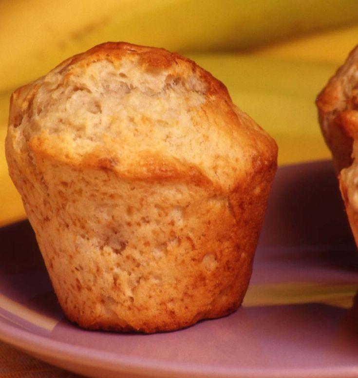 Muffins aux bananes - les meilleures recettes de cuisine d'Ôdélices