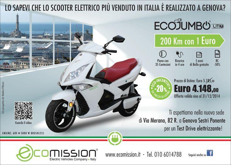 EcoJumbo scooter elettrico by Genova
