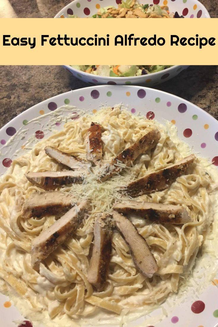 Easy Fettuccini Alfredo Recipe