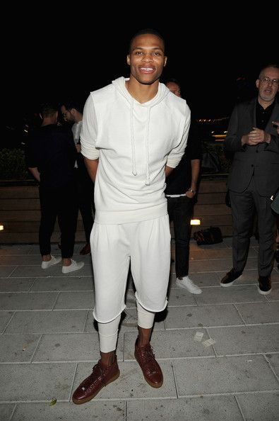 Russell Westbrook Photos: GQ Fashion Week Party At The Wythe Hotel