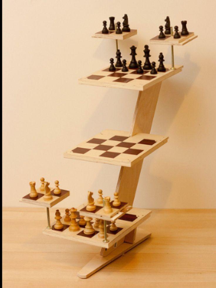 Diy Star Trek chess game