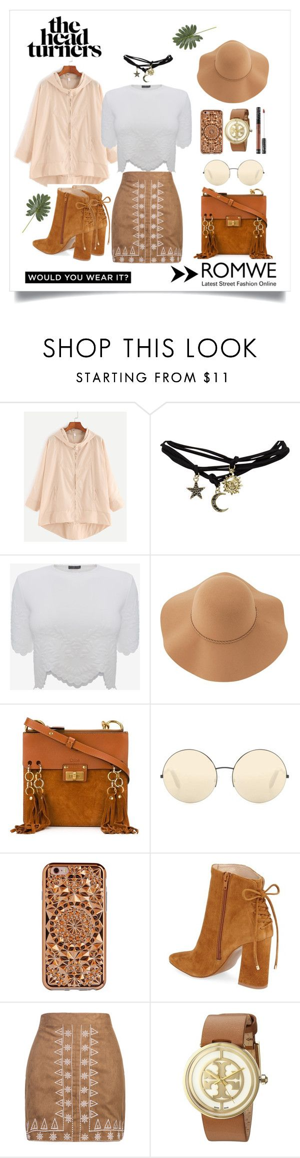"""""""Brownies"""" by sabrinadiaa ❤ liked on Polyvore featuring Wet Seal, Alexander McQueen, Sans Souci, Chloé, Victoria Beckham, Felony Case, Sephora Collection, Kristin Cavallari, WithChic and Tory Burch"""