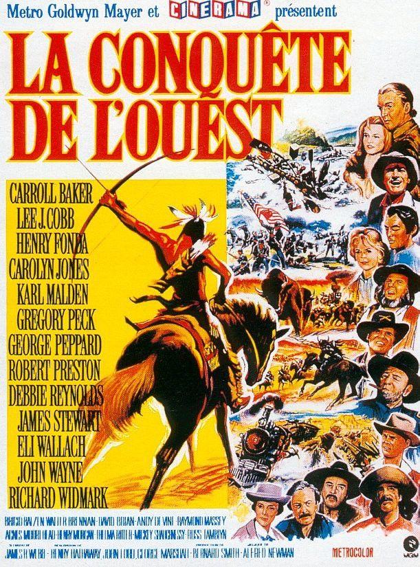 """La conquête de l'Ouest (""""How the West was won"""") - 1962"""