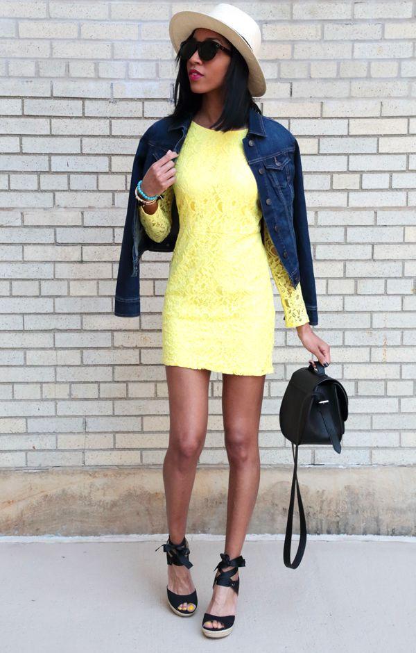 The Bloggerella / May 11, 2015Yellow Lace DressYellow Lace Dress | The Bloggerella