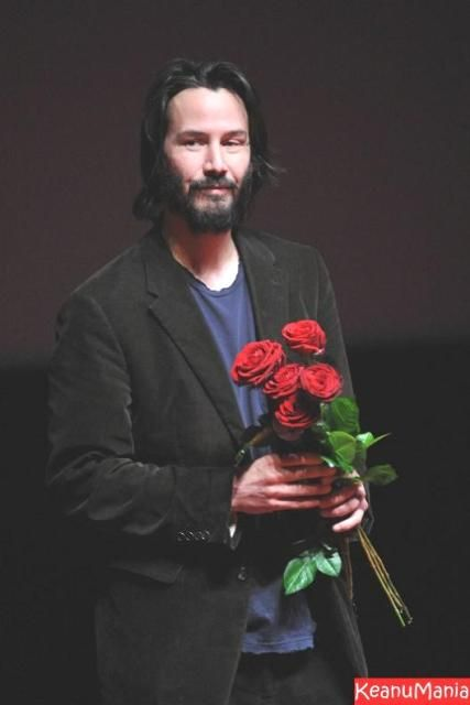 Keanu. Flowers for me, Thank you.