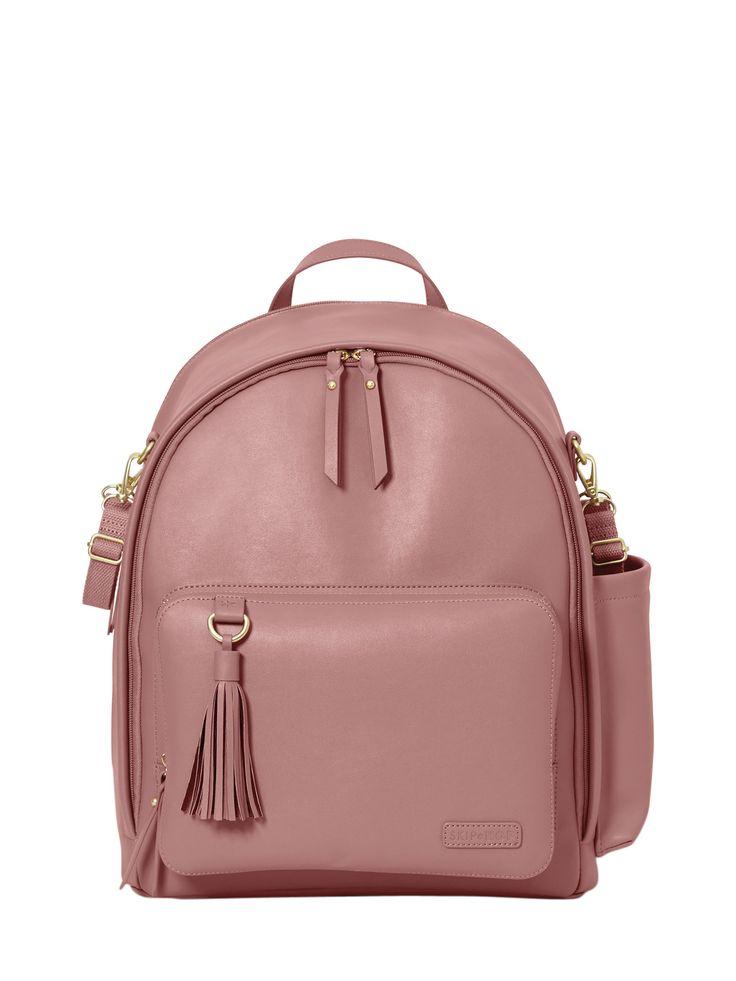 SKIP HOP GREENWICH SIMPLY CHIC BACKPACK. #skiphop #bags #leather #backpacks #