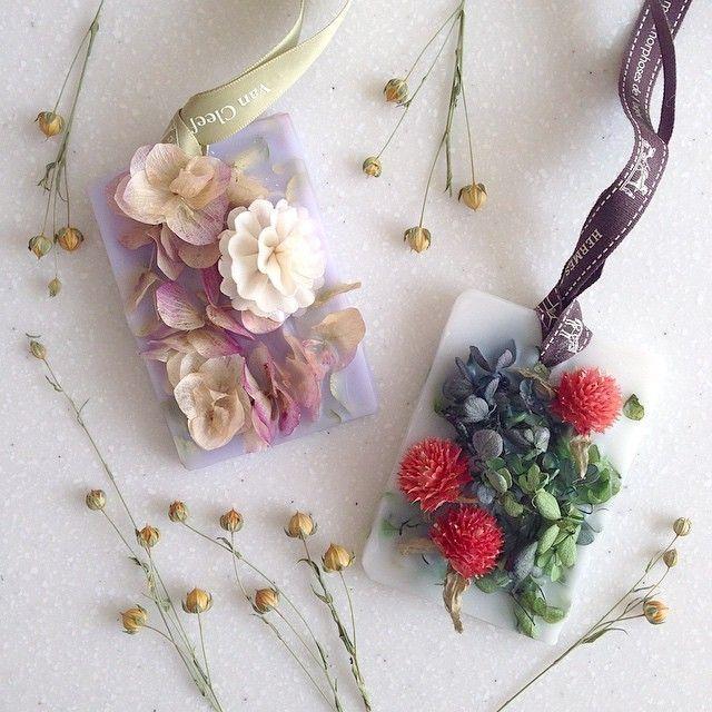 手作り可愛いプチギフト♡アロマワックスバーをDIYしたい*にて紹介している画像: