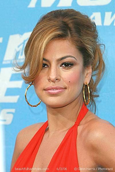 33 best eva mendes updos for long hair images on pinterest celebrity eva mendes in a red carpet updo hair style pmusecretfo Choice Image