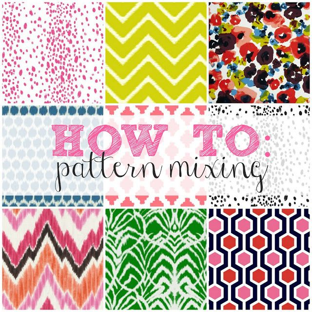How to conquer pattern mixing the easy way with this simple formula!