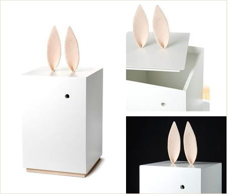 Rabbit ears toy box designed by Matilda Lindblom and Sanna Lindström for Heirloom