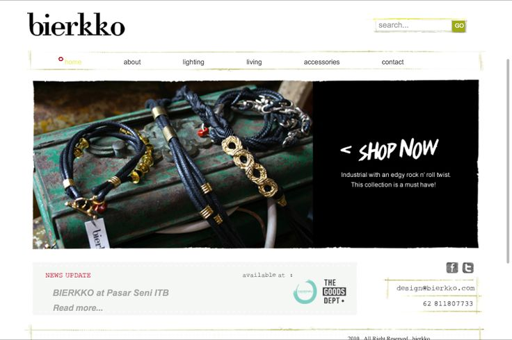 Bierkko.com Vintage furniture, lighting and accessories.