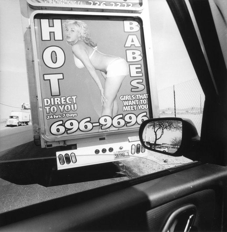 Lee Friedlander, Las Vegas, Nevada, 2007, from the series America by Car, 1995-2009. Gelatin silver print