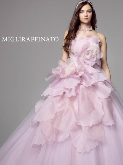 { MIGLIRAFFINATO } formal organza gown