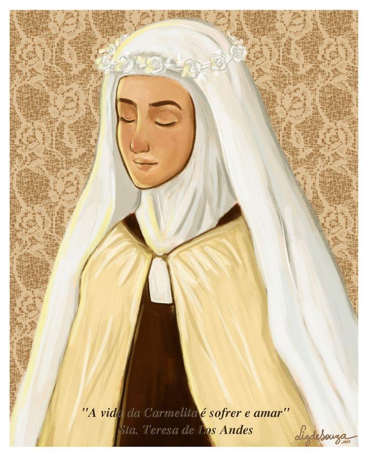 The life of the Carmelite... by artelizdesouza.deviantart.com on @deviantART