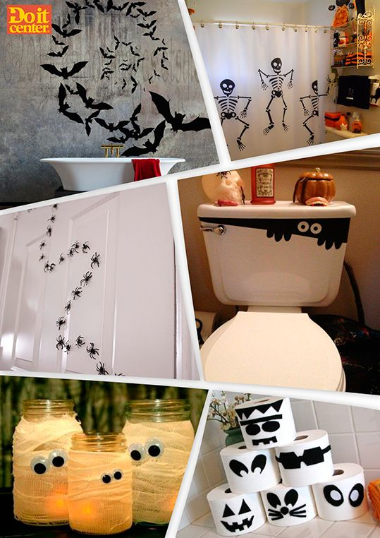 Ideas para decorar tu ba o en halloween halloween ba o - Ideas para decorar un bano ...