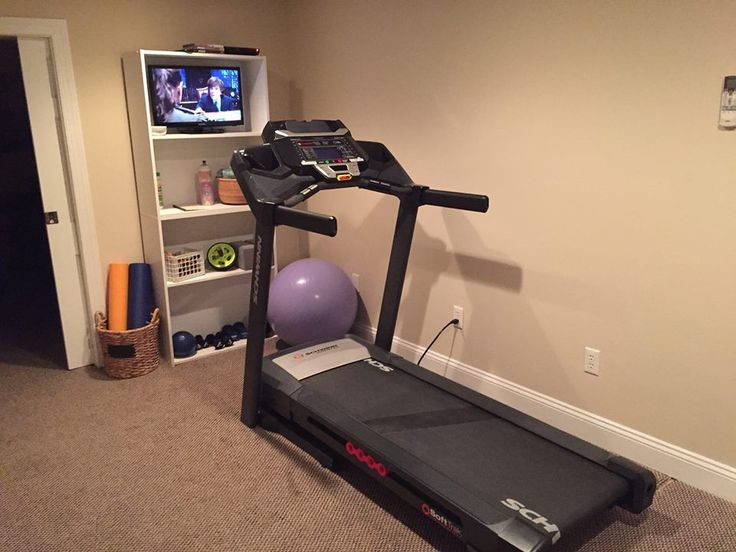 Our little treadmill nook compact home gym