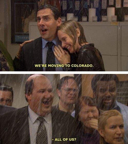 Holly and Michael make me so happy but when Michael leaves it the saddest episode of The Office there is :(