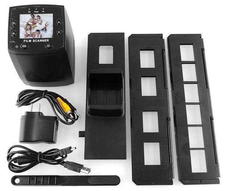 New 5MP 35mm Negative Film Slide VIEWER Scanner USB Digital Color Photo Copier