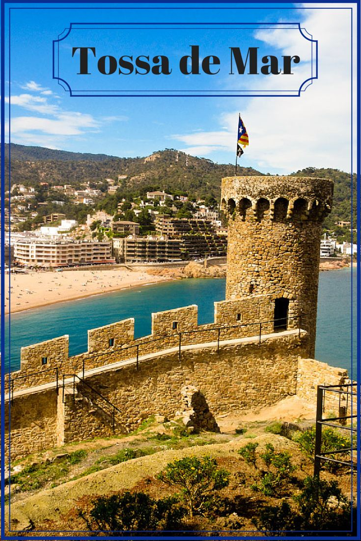 The Costa Brava in the Catalonian region of Spain is a stunning stretch of coastline. Tossa de Mar is a medieval town on that coast that boasts a castle with ramparts, beautiful beaches and awesome coastal hikes. It is also the first town in Spain to have banned bull fighting. Click through to Live Dream Discover for more details. via @livedreamdiscov