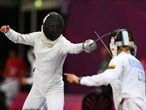 Day 16: Action from the women's Modern Pentathlon
