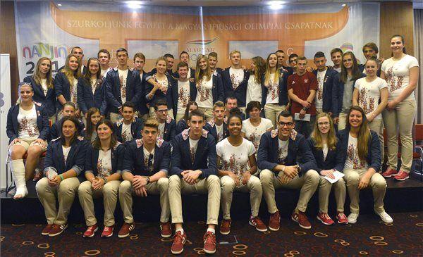 A Magyar Olimpiai Bizottság (MOB) ünnepélyes fogadást adott az augusztusi nankingi ifjúsági olimpián eredményesen szerepelt magyar csapat tagjai részé