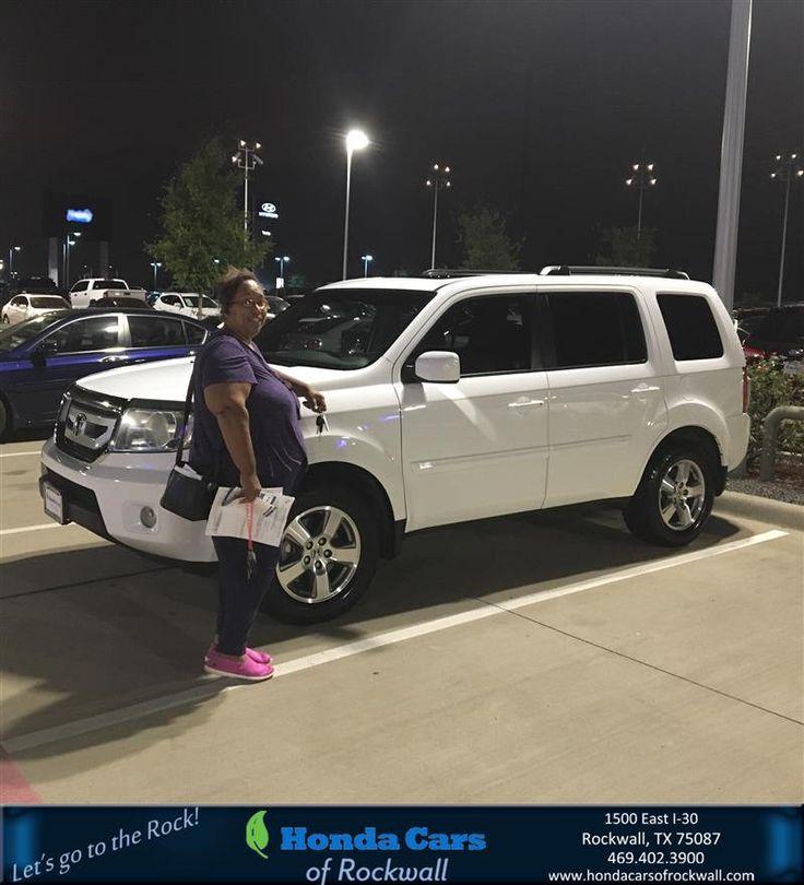 https://flic.kr/p/LBxifk   Congratulations Tina on your #Honda #Pilot from Rene Rivera at Honda Cars of Rockwall!   deliverymaxx.com/DealerReviews.aspx?DealerCode=VSDF
