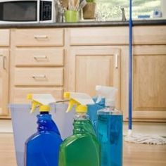 Replace your old mop and cleansers with a Shark steamer.