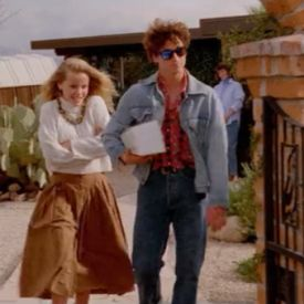 'Can't buy me love' (with a young Patrick Dempsey) I love this movie.