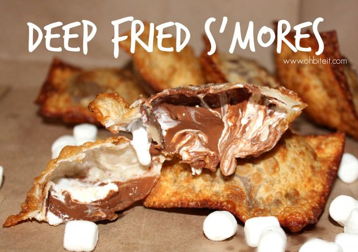 Deep Fried S'Mores!