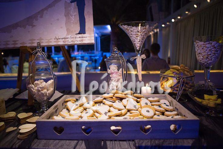 wedding decoration in candy bar