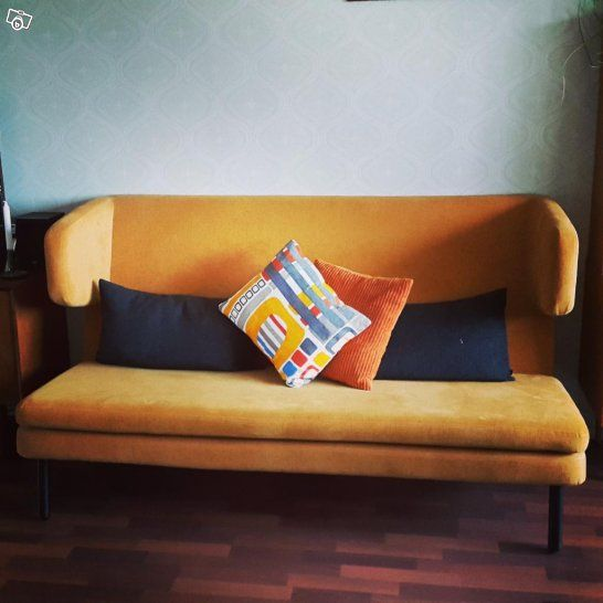 Snygg soffa i retrostil