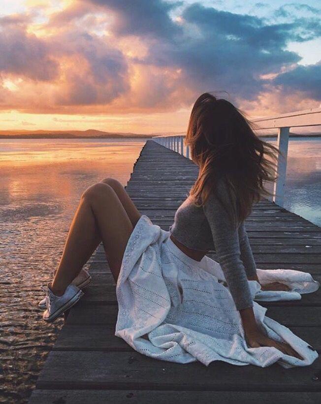 "Instagram Idea   Caption / ""sunset lover"""