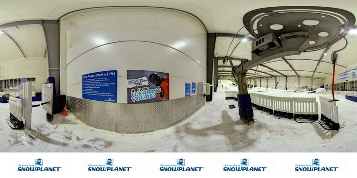 Two lifts provide access to Snowplanet's freestyle jumps and piste.