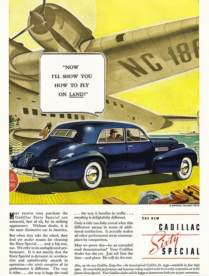 14 best 1939 Cadillac Ads images on Pinterest | Vintage cars, Cars ...