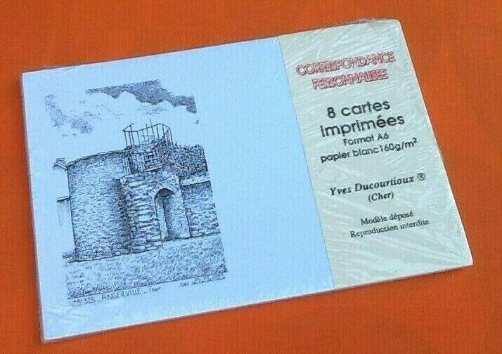 8 Cartes Imprimees Angerville Essonne Dessin Yves Ducourtioux Ebay Cartes A Imprimer Dessin