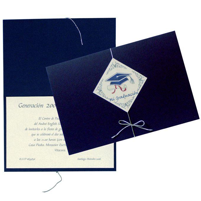 Resultado de imagen para invitaciones para graduacion