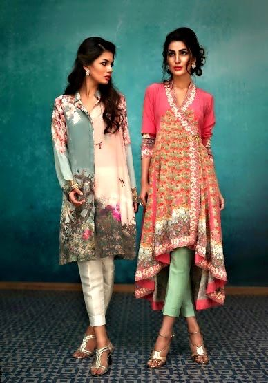 Nida Azwer, Eid Collection, S/S 2015 - High Fashion Pakistan