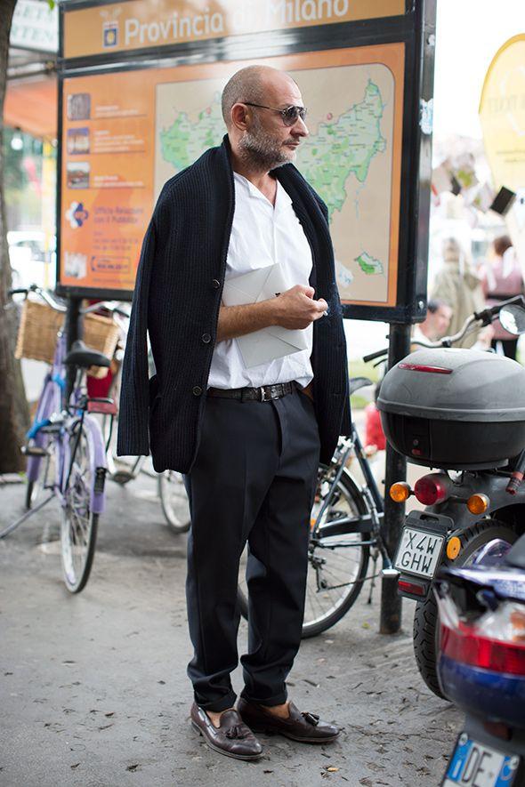 On the Street…..via Beltrami, Milan « The Sartorialist