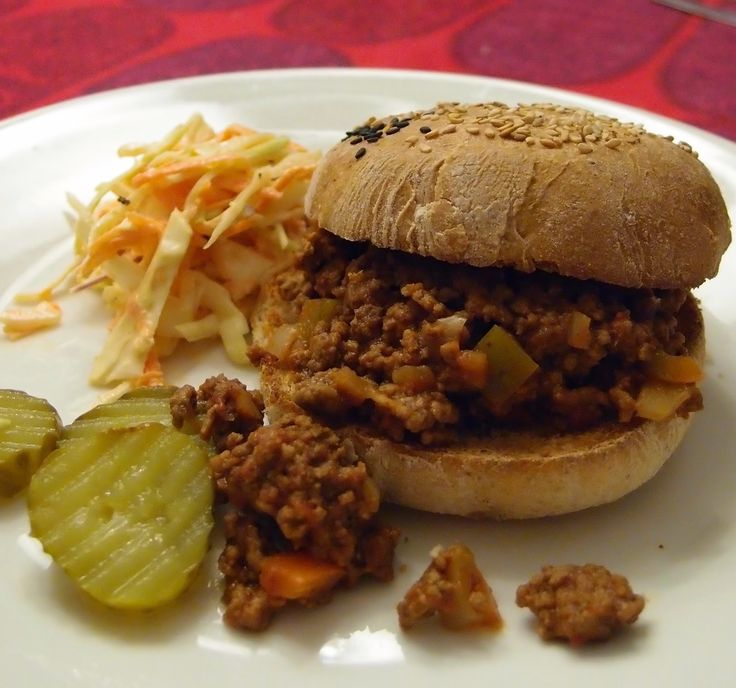 Sloppy Joes by Tummies Full