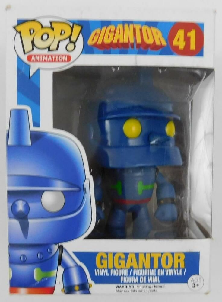 Funko Pop Animation Gigantor 41 Damaged Box B Funko Darth Vader Funko Pop Funko Vinyl Figures