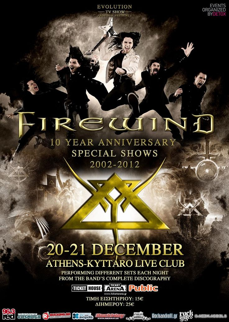 Firewind live in Athens (2012)