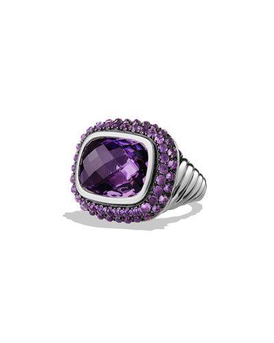 Y2DJY David Yurman Osetra Ring with Amethyst