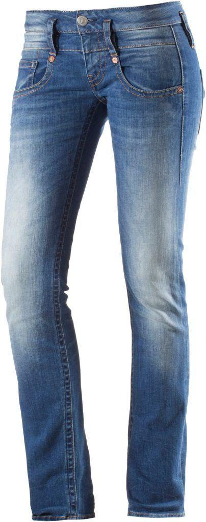 #Herrlicher #Pitch #Skinny #Fit #Jeans #Damen #blue #denim