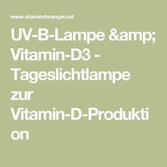 Die besten 25+ Vitamin d lampe Ideen auf Pinterest