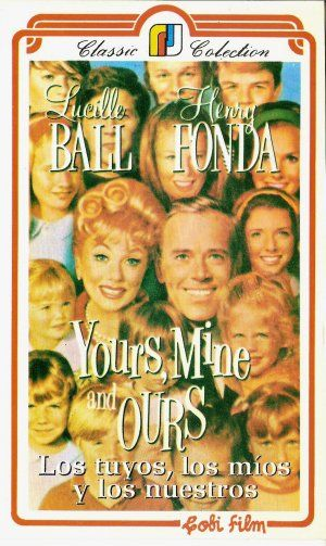 yours mine and ours 1968- One of my favorites that I put on when I'm feeling down.  You can't be down watching this movie!  LB is perfect and HF is great.  Philip is the best of the movie and I think he helps bring everyone together.
