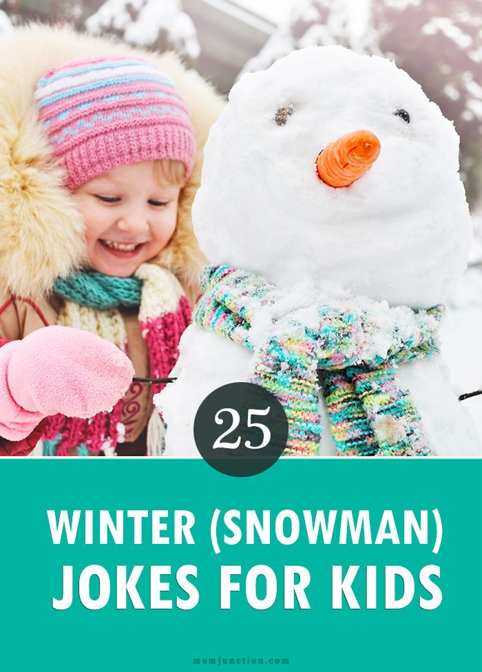 25 Funny Winter (Snowman) Jokes For Kids