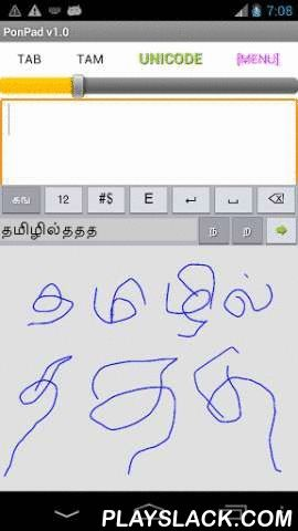 PonMadal - Tamil Keyboard  Android App - playslack.com , PonMadal is an Input Method. It has to be activated and made the current Input Method before using it. For this tap on PonMadal icon in list of apps, and follow the instructions.PonMadal – A comprehensive software for input in Tamil, with handwriting, single tap method, spell check, auto-correction and auto-complete.Text can go to any text box in any application (like mail, SMS, search engine, Facebook, Twitter)Text is created in…