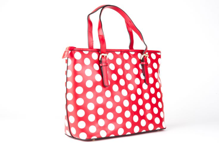 Minx bag Red and White Spot