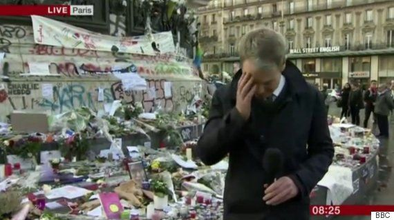 BBC Breakfast Presenter Graham Satchell Breaks Down Live On Air During Paris Attacks Broadcast