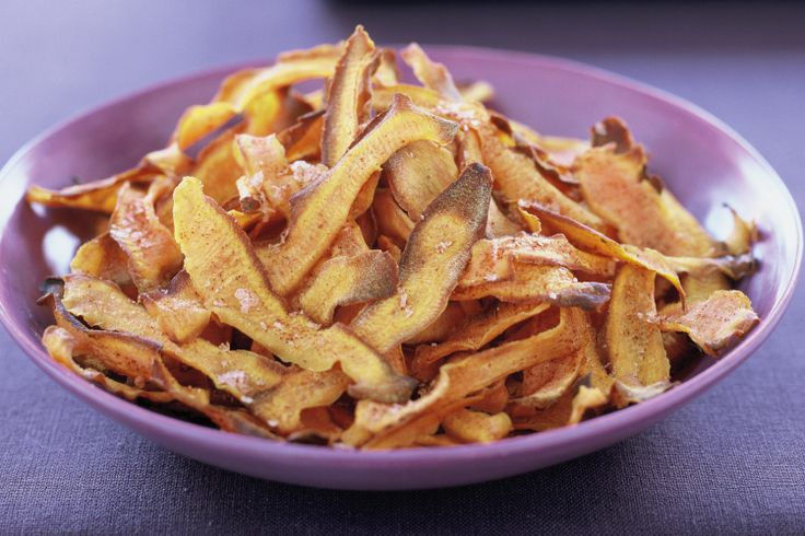 Roast Kumara Chips Recipe - Taste.com.au